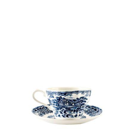 XICARA PIRES DE CAFE BLUE BROOK CHELSEA CERAMICA CX C  6 345d2c948f9