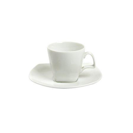 XICARA PIRES CAFE SQUARE WHITE 100 ML   12 CM PORCELANA CX C  6 5b19e3b975d