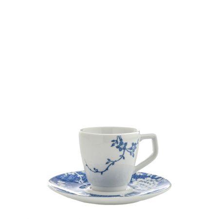 XICARA PIRES CAFE LINEN ROSE PORCELANA CX C  6 5137eb93055